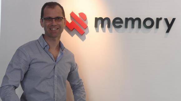 Roni Lieberman, el director de Memory. Foto: Ariel Colmegna
