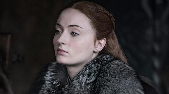 Sophie Turner como Sansa Stark. Foto: HBO
