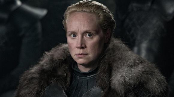 Gwendoline Christie como Brienne of Tarth. Foto: HBO