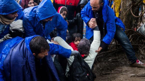 Refugiados sirios. Foto: Anna Surinyach/MSF