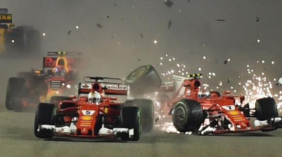 Vettel Foto: AFP