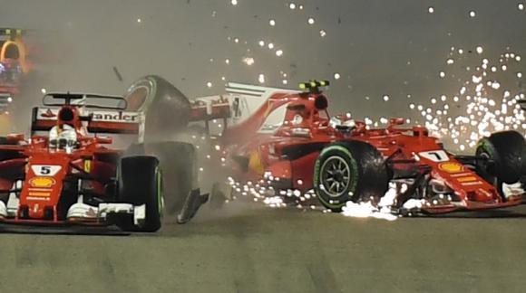 Vettel. Foto: AFP