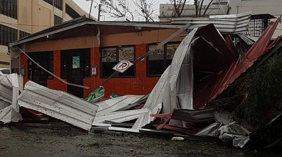 Huracán María pasó por Puerto Rico generando destrucción. Foto: Reuters
