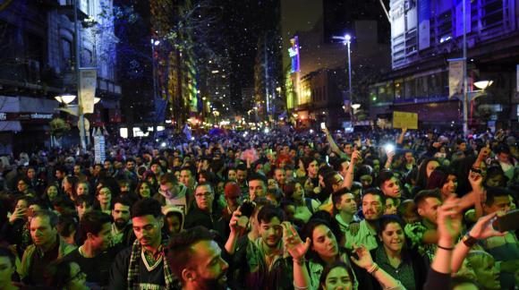 La Marcha por la Diversidad convocó a miles de personas. Foto: Intendencia de Montevideo