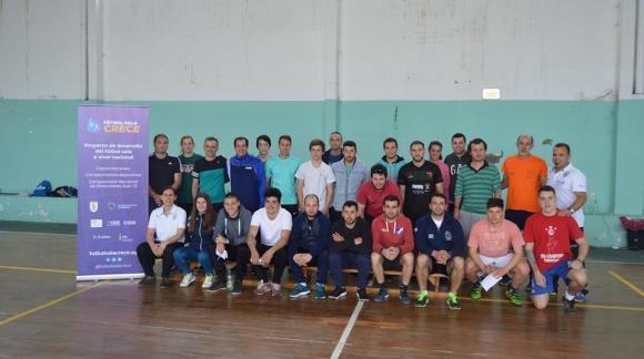 Una apuesta al futuro: Futbol Sala Crece. Fotos: Matías Prego.