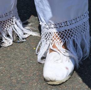 Alpargatas. Su calzado favorito para correr.