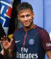 Neymar en su presentación en PSG. Foto: AFP