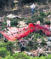 Atentado al avión de Avianca en Colombia. Foto: Archivo El País
