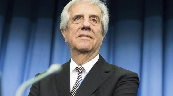 Tabaré Vázquez. Foto EFE.