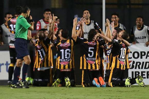 The Strongest venció 1-0 a Sao Paulo. Foto: EFE