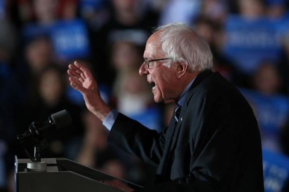 Bernie Sanders. Foto: AFP
