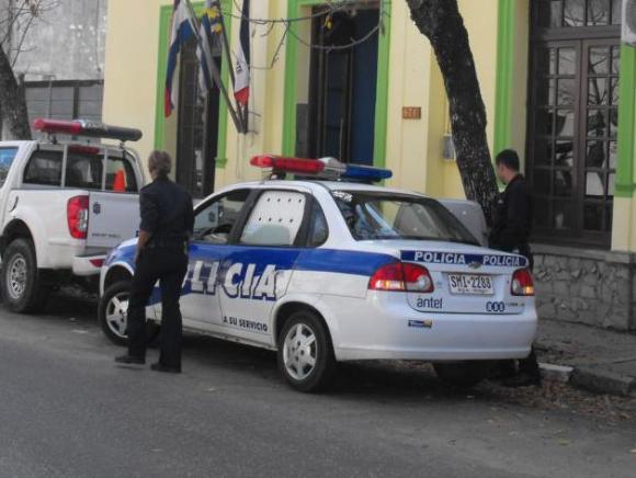Seccional 2a.de Policía de Paysandú. Foto: Luis Pérez.