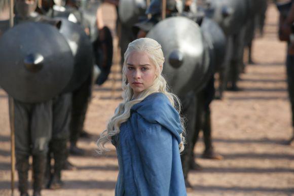"Emilia Clarke en ""Game of Thrones"""