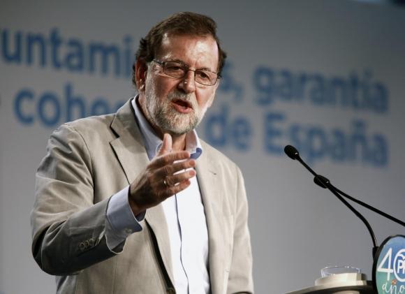 Mariano Rajoy, presidente del gobierno español. Foto: Efe.