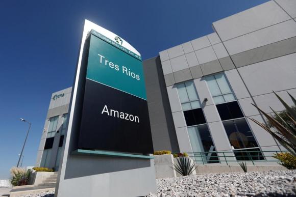 Dependencia de Amazon en la Ciudad de México. Foto: Reuters