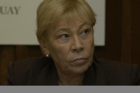 María Elena Martínez, integrante del Tribunal de Conducta del FA. Foto: Archivo El País.