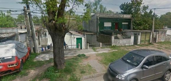 El lugar donde ocurrió el incendio. Foto: Google Street View.