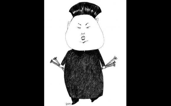 Kim Jong-un por Arotxa