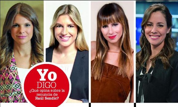 Valentina Giménez, Ana Matyszczyk, Malena Castaldi y Valeria Alonso.