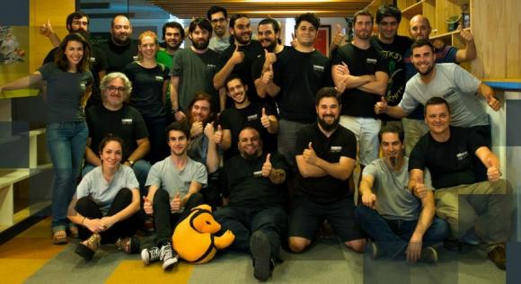 El equipo de ironhide. Foto: Ironhide Game Studio.