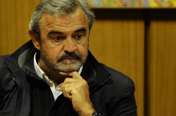Jorge Larrañaga, senador del Partido Nacional. Foto: Darwin Borrelli.