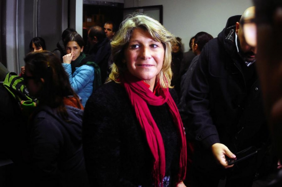 Sandra Nedov, alcaldesa del municipio D. Foto: Fernando Ponzetto.