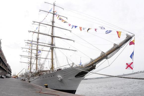 Libertad: el  buque argentino en su 46° viaje de instrucción. Foto: M. Bonjour