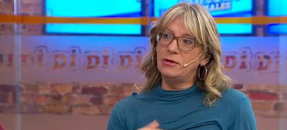 Collette Richard, presidenta de la Unión Trans del Uruguay. Foto: Captura.