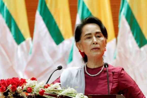 Aung San Suu Kyi ganó el Nobel de la Paz en 1991. Foto: Reuters.