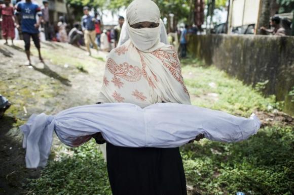 Varios niños rohinyás han muerto a manos de los monjes del Movimiento 969. Foto: AFP.