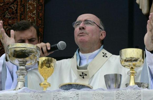 Cardenal Sturla. Foto: Marcelo Bonjour