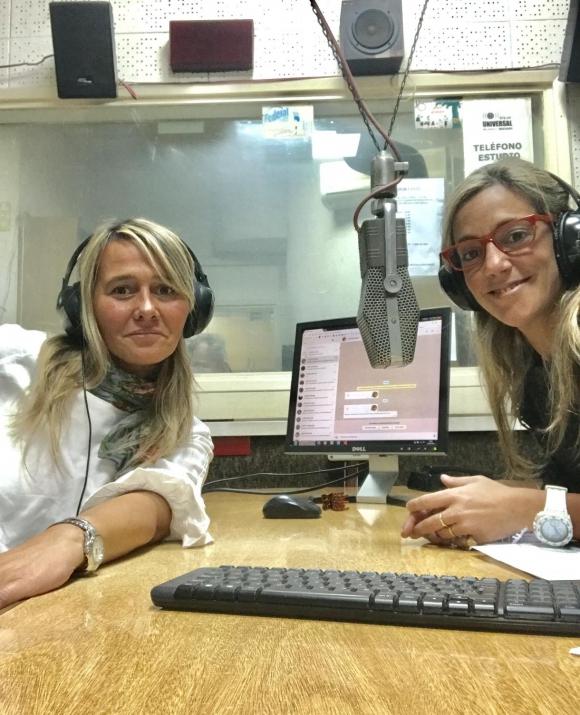 Lucía Ferri y Eugenia Rodríguez