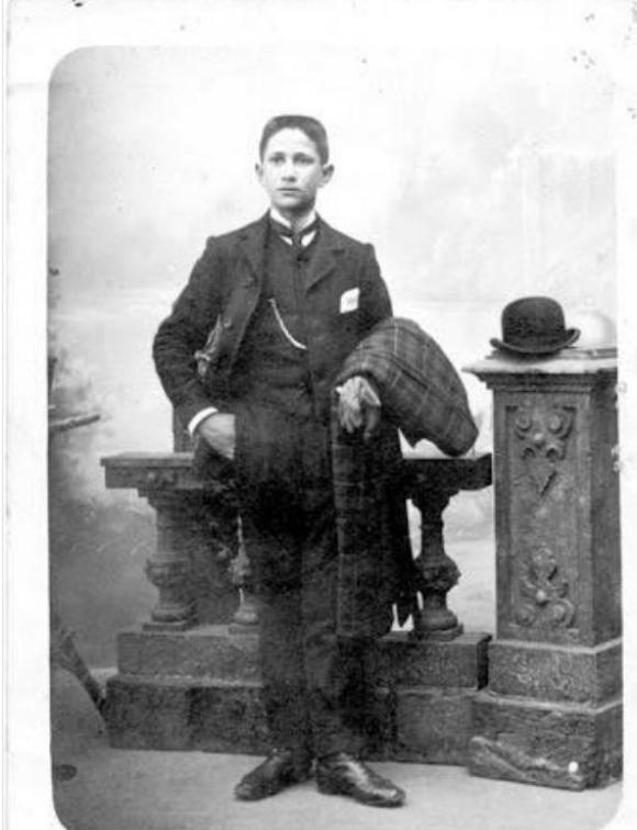 Salvador García Pintos. Foto: Familia García Pintos