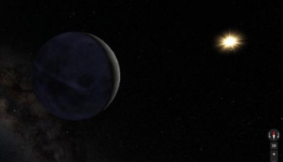 Gracias a la sonda Cassini se tuvieron estas impresionantes fotografías. Foto: Google Maps
