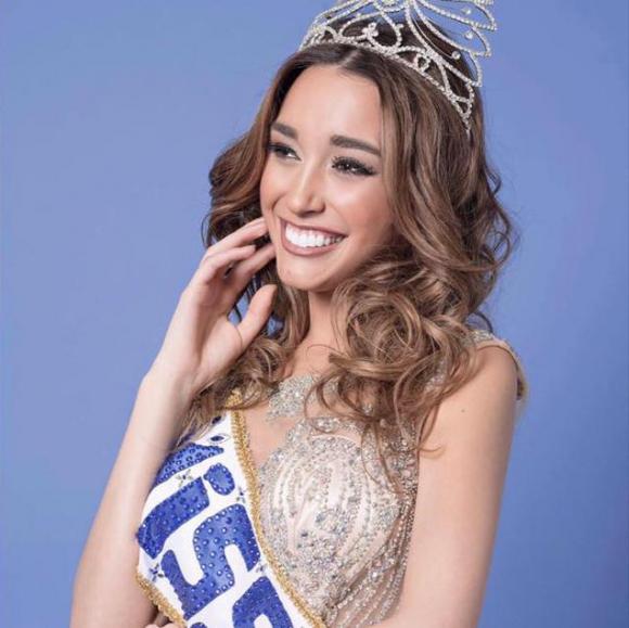 Melina Carballo. Foto: Facebook Miss World - Uruguay