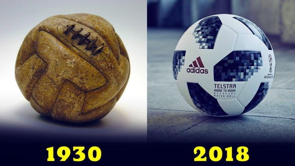 La evolución de la pelota del mundial