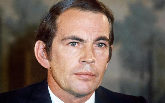 El cirujano sudafricano Christiaan Barnard en 1970. Foto: AFP
