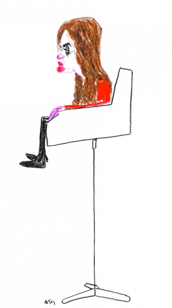 Cristina Fernández de Kirchner por Arotxa