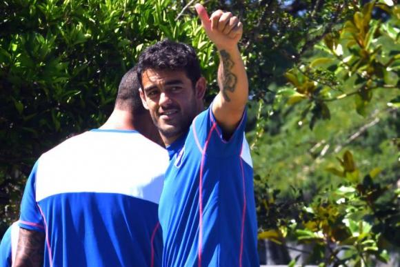 Luis Aguiar en Nacional. Foto: Ariel Colmegna