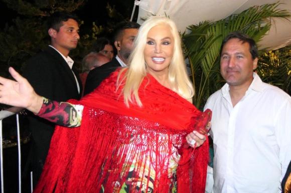 Susana Giménez se suma a la lista de famosos en Punta del Este. Foto: Ricardo Figueredo