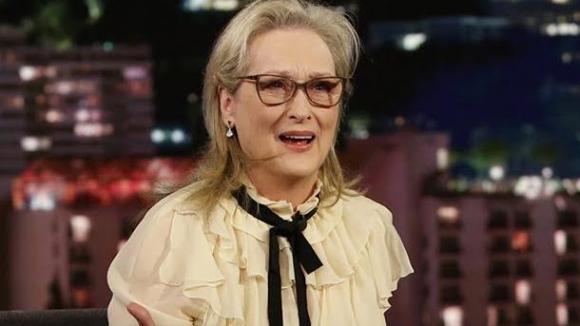 Meryl Streep y Jimmy Kimmel