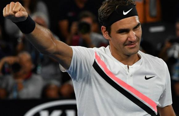 Roger Federer llegó a las semifinales del Abierto de Australia