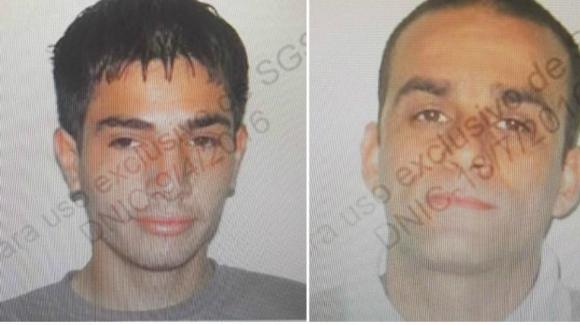 Roberto Nicolás López y Federico Luquez, los reclusos fugados. Foto: Unicom.