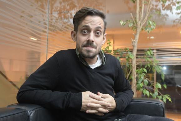 """Agustín Aristarán, el sábado y domingo en el Teatro Metro con su show """"Radagast"""". Foto: Marcelo Bonjour"""