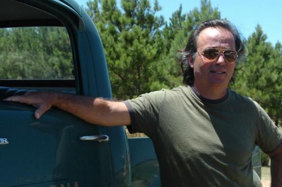 """Eduardo """"Pacha"""" Cantón en 2008. Foto: Darwin Borrelli."""
