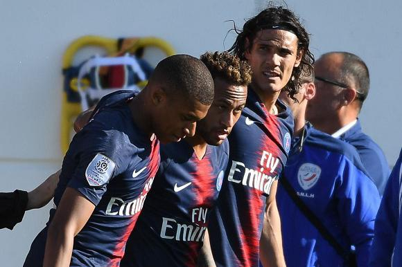 El tridente del PSG: Mbappé, Neymar y Cavani