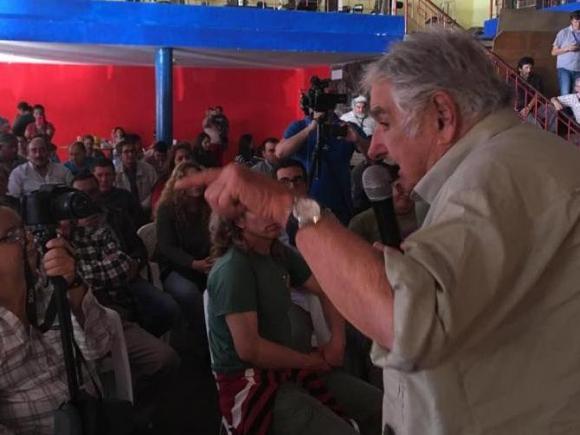 José Mujica. Foto: Facebook MPP Movimiento de Participación Popular