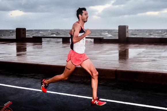 Nicolás Cuestas, el ganador de la segunda edición de la Rock & Run. Foto: El Pulpito.