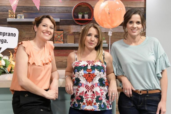 Camila Cibils, Cecilia Olivera y Paula Echeverría. Foto: Leo Mainé