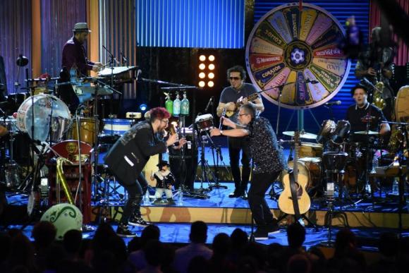 Los Auténticos Decadentes en el MTV Unplugged. Foto: Difusión